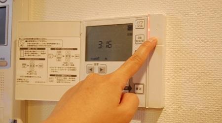 床暖房スイッチ