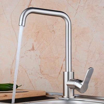 キッチンの水栓交換ワンホールタイプ