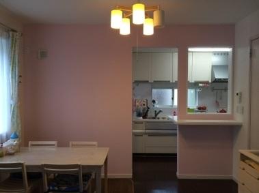 キッチン台の増設