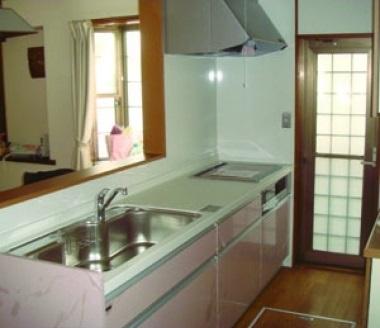 キッチン改装リフォーム