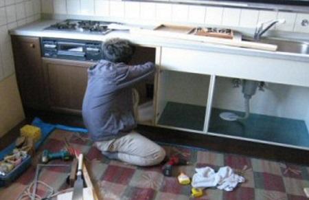 キッチン扉交換リフォーム