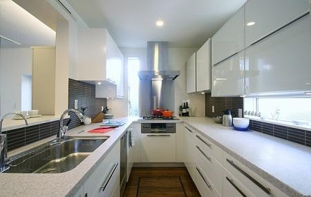 対面式キッチンU型