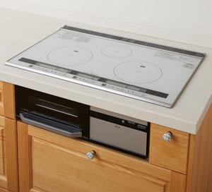 IH機能性木製キッチン